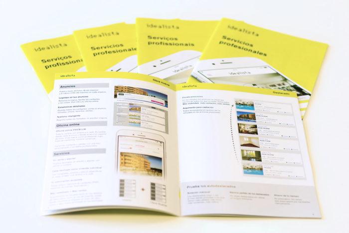 folleto productos